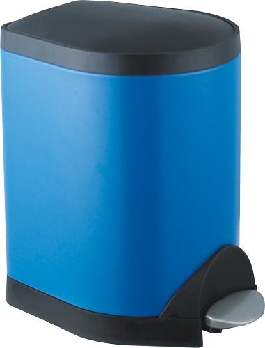 Foot pedal stainless steel dustbin S-5A(Blue)