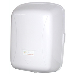 Plastic center pull  tissue dispenser