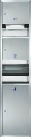 Stainless steel wall units